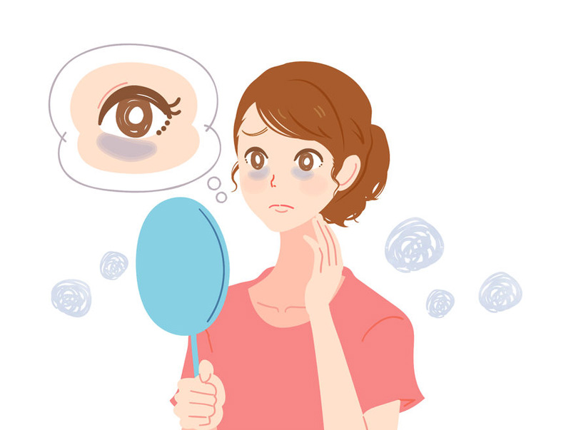 What causes dark circles under the eyes and how to treat them